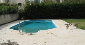 Villa with swimming pool- for rent